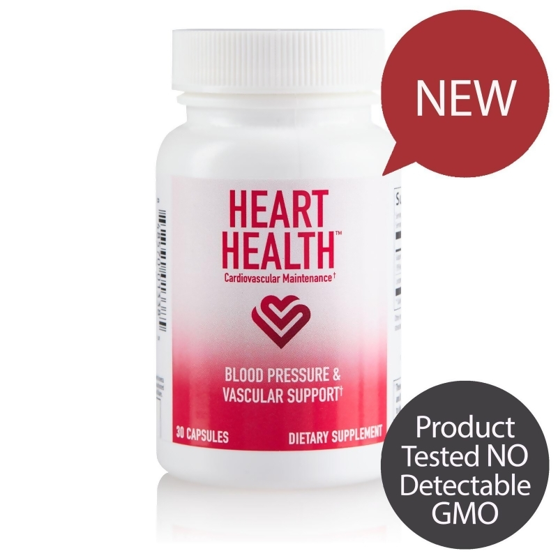 Heart Health Blood Pressure & Vascular Support