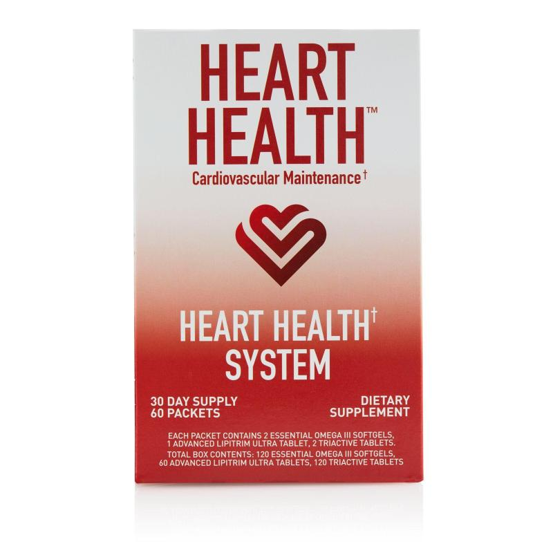 Purchase Heart Health System (Advanced LipiTrim Ultra, Essential Omega III Fish Oil, TriActive)