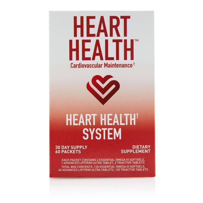 Heart Health System (Advanced LipiTrim Ultra, Essential Omega III Fish Oil, TriActive)