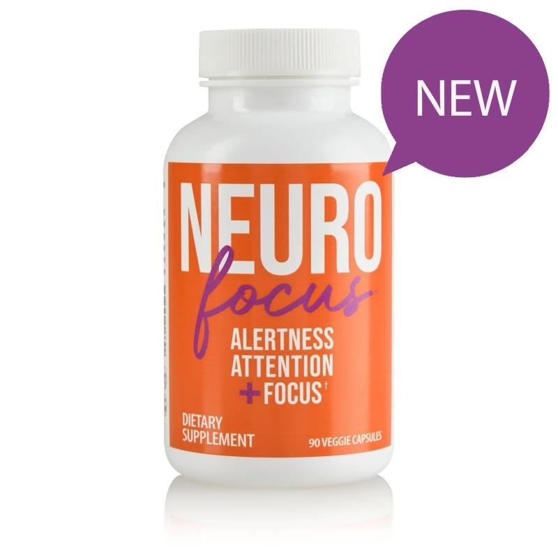 Neuro Focus Alertness Attention + Focus