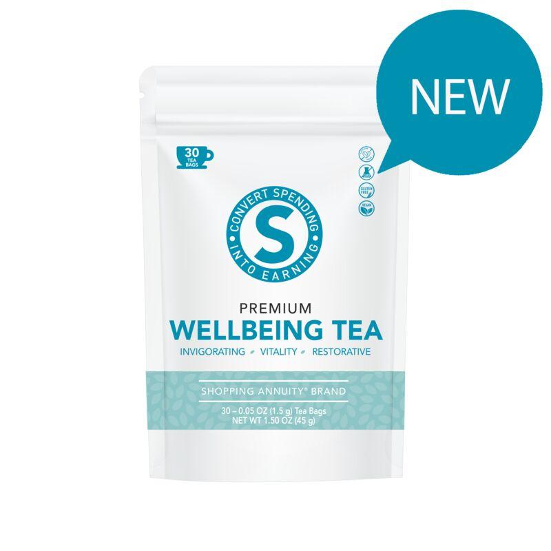 Shopping Annuity Brand Premium Wellbeing Tea