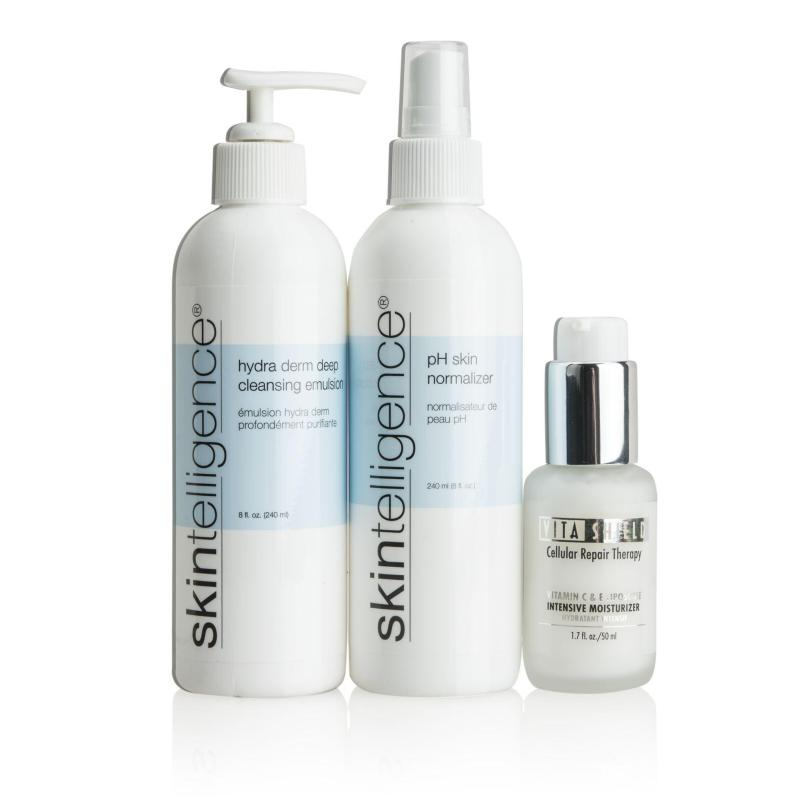 Skintelligence and VitaShield Skincare Value Kit