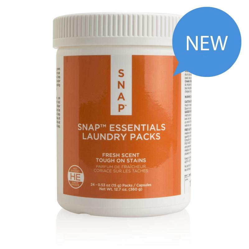 Snap Essentials Laundry Packs - Fresh Scent