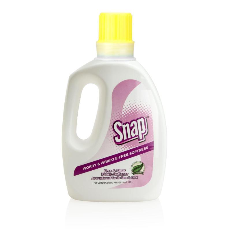 Snap Free & Clear Fabric Softener