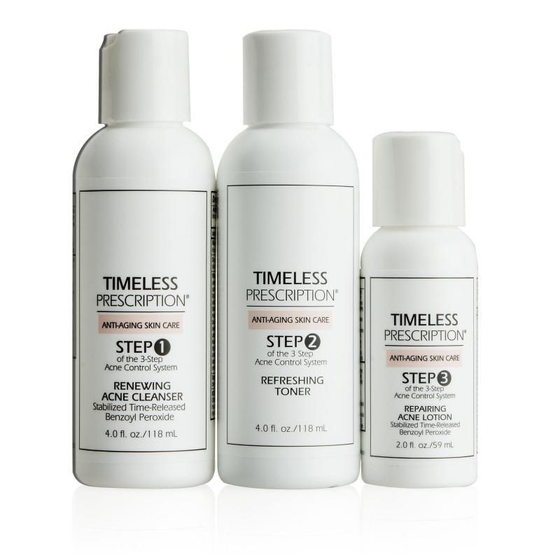 Timeless Prescription 3-Step Acne Control System
