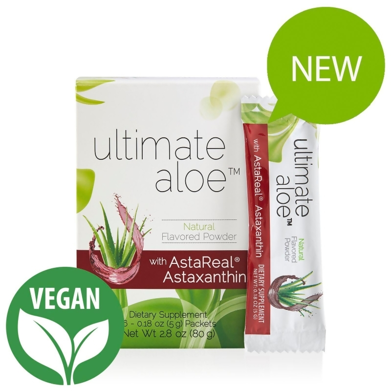 Ultimate Aloe with AstaReal Astaxanthin